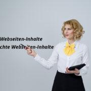 Gute Inhalte für Webseiten
