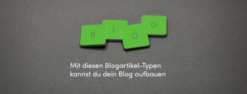 Blogartikel-Typen