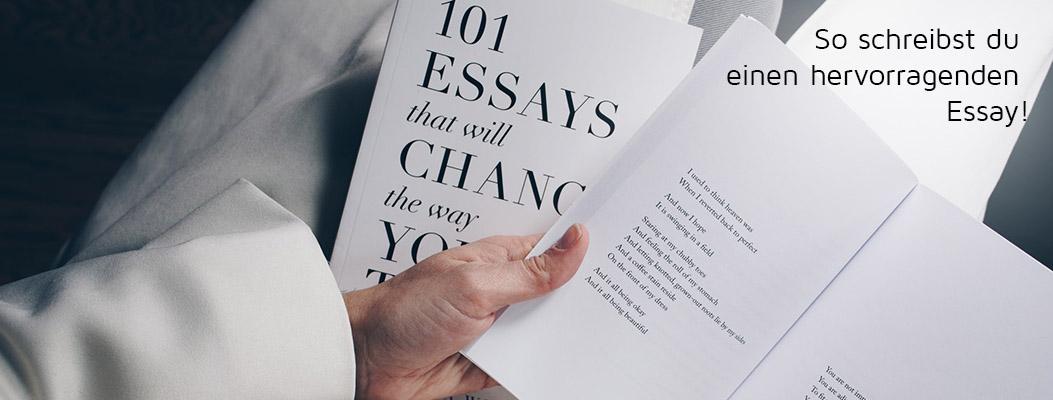 Was Bedeutet Essay